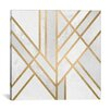 Mercer41 Art Deco Geometry II Graphic Art on Wrapped Canvas