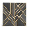 Mercer41 Art Deco Geometry I Graphic Art on Wrapped Canvas
