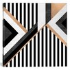 Mercer41 Stripe Combination Graphic Art on Wrapped Canvas