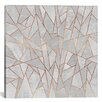 Mercer41 Shattered Concrete Graphic Art on Wrapped Canvas