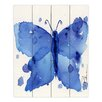 DiaNoche Designs Moth II by Dawn Derman Painting Print Plaque