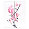 DiaNoche Designs Japanese Magnolia by Brazen Design Studio Painting Print Plaque