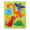 DiaNoche Designs Dinosaur Jumble by nJoy Graphic Art Plaque