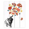DiaNoche Designs Elephant by Marci Cheary Graphic Art Plaque