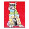 DiaNoche Designs Schnauzer by Marley Ungaro Painting Print Plaque
