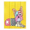 DiaNoche Designs Yorkie Dog by Marley Ungaro Painting Print Plaque