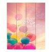 DiaNoche Designs Make Your Dreams Come True by Sylvia Cook Graphic Art Plaque