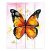 DiaNoche Designs MOnarch Butterfly by Kathy StaniOn Painting Print Plaque