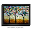 DiaNoche Designs 'Flowering Season' by Lam Fuk Tim Painting Print on Wrapped Framed Canvas