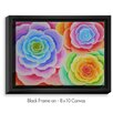 DiaNoche Designs 'Joyous Flowers I' by Jennifer Baird Painting Print on Wrapped Framed Canvas