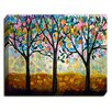 DiaNoche Designs 'Flowering Season' by Lam Fuk Tim Painting Print on Wrapped Canvas
