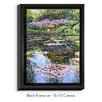 DiaNoche Designs 'Giverny Reflections' by David Lloyd Glover Painting Print on Wrapped Framed Canvas