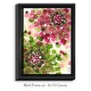 DiaNoche Designs 'Hydrangea' by Dawn Derman Painting Print on Wrapped Framed Canvas