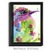 DiaNoche Designs 'Spring Dreaming Bird' by Dawn Derman Painting Print on Wrapped Framed Canvas