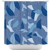 DiaNoche Designs Leaves Shower Curtain