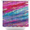 DiaNoche Designs Agate Magic Shower Curtain