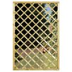 Grange Fencing Garden Mirror with Lattice Screen