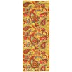 sweet home stores Sweet Home Paisley Yellow Area Rug
