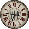 """M Home Decor Country Decor Fork, Knife and Spoon 24.5"""" Wall Clock"""