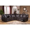 Amax Oregon Leather Sectional