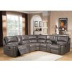 Amax Sacramento Leather Sectional