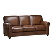 Amax Aspen Leather Sofa and Loveseat Set