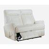 Amax Toledo 3 Piece Leather Living Room Set
