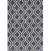 KAS Rugs Allure Charcoal Fiore Area Rug