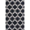 KAS Rugs Zolo Black Ribbons Area Rug