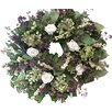 "From the Garden 18"" Chantilly Wreath"