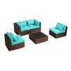 Kardiel Kauna 5 Piece Deep Seating Group