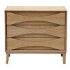 Kardiel Vodder Lowboy 3 Drawer Dresser