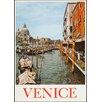 LivCorday Leinwandbild Venice Travel, Retro-Werbung