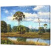 LivCorday Miami Nature Scene 2 Art Print Wrapped on Canvas
