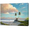 LivCorday Miami Nature Scene 4 Art Print Wrapped on Canvas