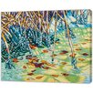 LivCorday Miami Nature Scene 1 Art Print Wrapped on Canvas