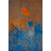 David & David Studio 'Orange and Blue 2' by Laurence David Graphic Art