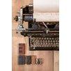 David & David Studio 'Type Writer 1' by Laurence David Framed Photographic Print