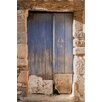 David & David Studio 'Blue Gate' by Philippe David Framed Photographic Print