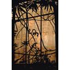 David & David Studio 'From Inside The Greenhouse 1' by Laurence David Framed  Photographic Print