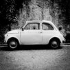 David & David Studio 'Fiat 500 1' by Philippe David Framed Photographic Print