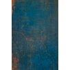 David & David Studio 'Blue, Orange 1' by Laurence David Framed Graphic Art