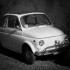 David & David Studio 'Fiat 500 4' by Philippe David Framed Photographic Print