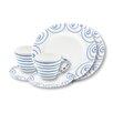 Gmundner Keramik 6-tlg. Teeservice Gourmet Geflammt