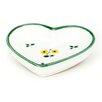 Gmundner Keramik Herzschale Streublumen
