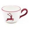 Gmundner Keramik Kaffeetasse Hirsch