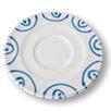 Gmundner Keramik 14 cm Unterteller Cappuccinotasse Gourmet Geflammt