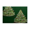 The Holiday Aisle Green Indoor/Outdoor Area Rug
