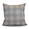 The Holiday Aisle Geometric Outdoor Throw Pillow