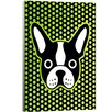Artzee Designs Modern French Bulldog Wall Art on Wrapped Canvas